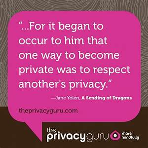 17 Best images ... Respect Privacy Quotes