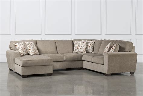 Patola Park 4 Piece Sectional Wlaf Corner Chaise Living
