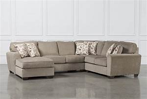 4 piece sectional sofa with chaise pb air upholstered 4 With 4 piece sectional with sofa bed