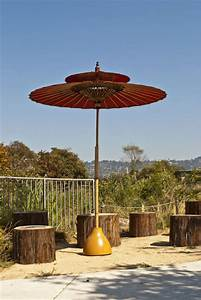 Concrete Umbrella Stand From Lamp Shade