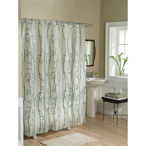 essential home shower curtain bamboo vinyl peva home