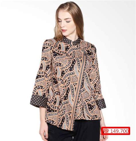 14 baju batik wanita terbaru dengan harga murah