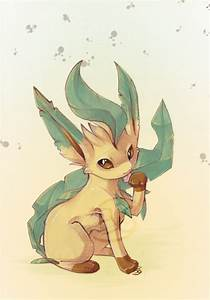 pokemon shiny leafeon images