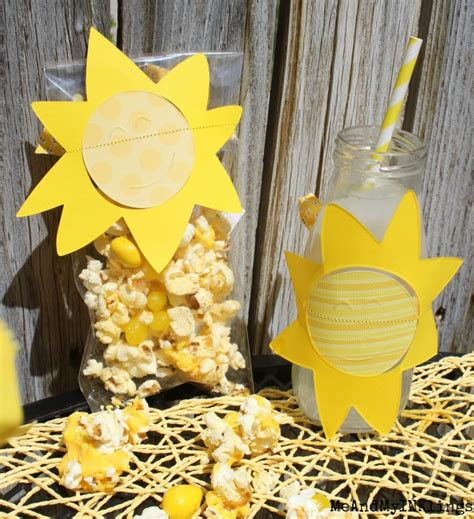sunshine party decorations