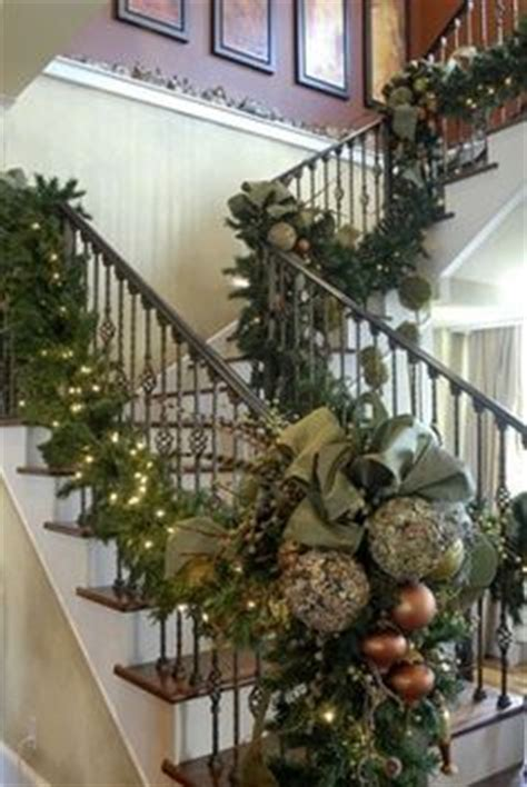 Garland For Banister by 1000 Images About Banisters Decorations On