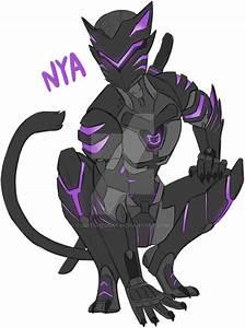 Black Cat Genji By GlitchedBat On DeviantArt