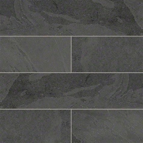 tilesbay gauged montauk black slate tile view in your