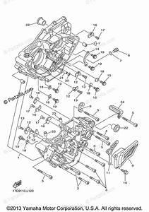 Yamaha Motorcycle 2012 Oem Parts Diagram For Crankcase