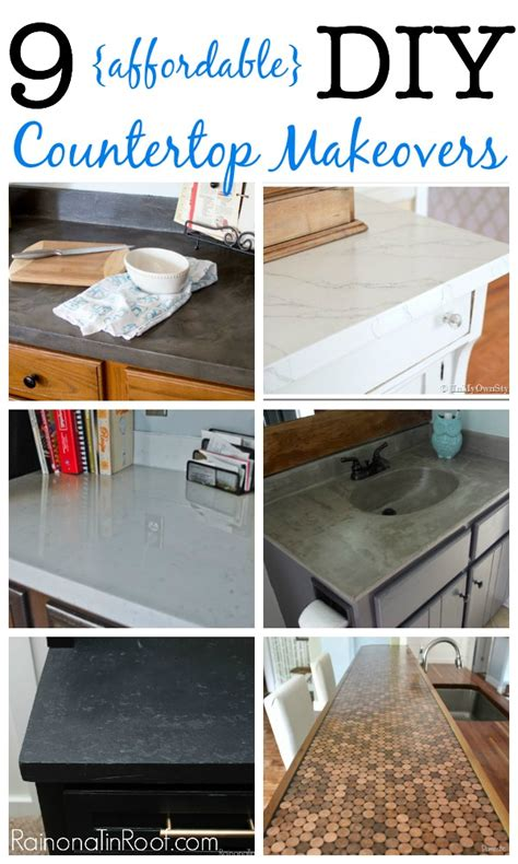 diy kitchen countertops ideas 9 diy countertop makeovers