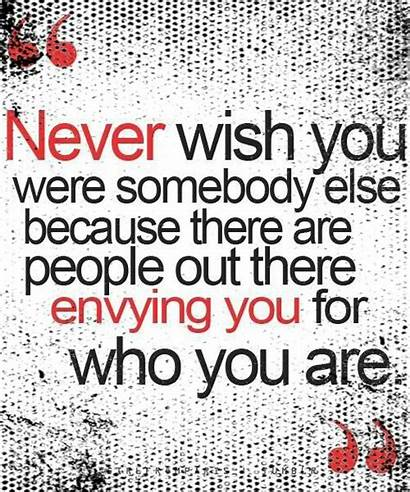 Pretty Quotes Wish Being Quote Envy Favim