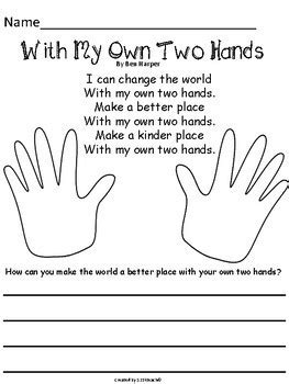martin luther king jr hand print book writing prompts