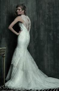 Lace wedding dresses 2012 weddings by lilly for Open back wedding dresses lace