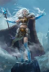 Fantasy Ice Mage