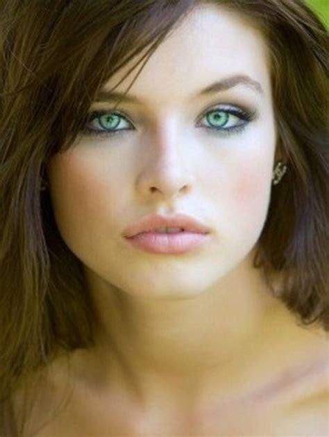 makeup  fair skin brown hair  green eyes bellatory