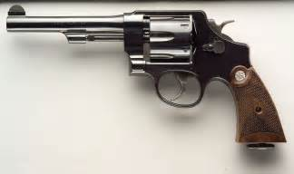 Smith and Wesson 22 Pistol Revolver