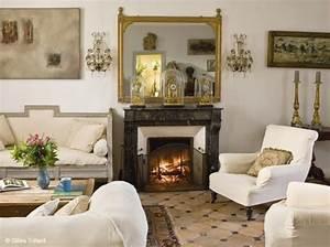 deco salon moderne avec cheminee chaioscom With deco salon avec cheminee