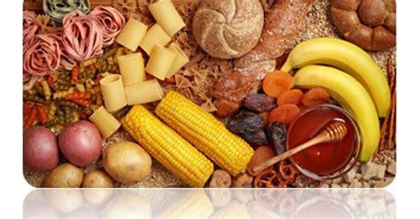 jenis jenis makanan  mengandung karbohidrat protein
