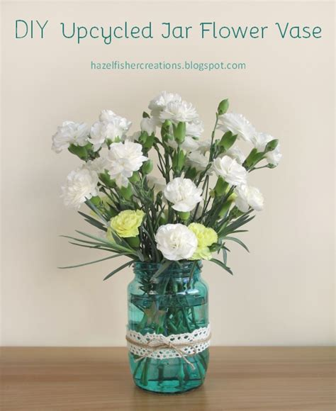 upcycle everyday items  cute flower vases