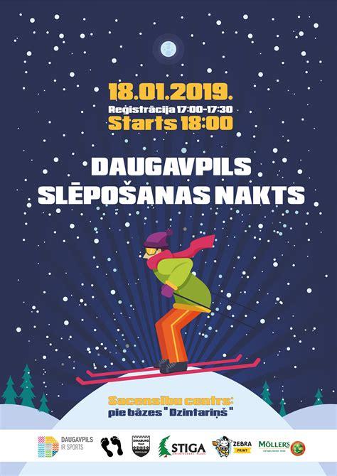 Notiks Daugavpils nakts slēpojums - VISITDAUGAVPILS