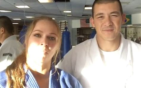 Ronda Rousey Boyfriend Suzuki by Henry Akins Is Ronda Rousey Trainer And Boyfriend Photos