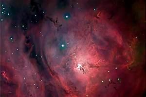 Lagoon Nebula M8 - Pics about space