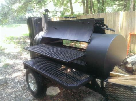 used pits for 2013 lang bbq smoker 84 deluxe offer florida ocala 4800