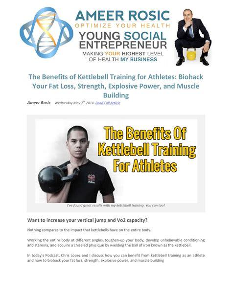 benefits kettlebell training