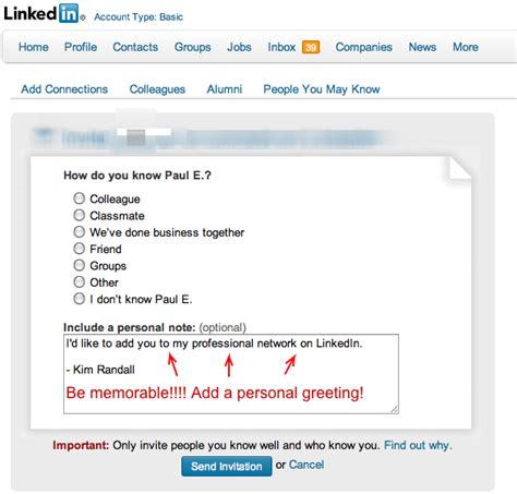 The permissions options below don't lead to a solution. Increase Your Visibility On LinkedIn