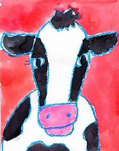 Paint A Cow Face  U00b7 Art Projects For Kids
