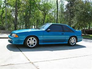 1993 Mustang Cobra #199 - Teal / Black | SVTPerformance.com