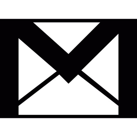 white mail icon vector png gmail envelope free logo icons