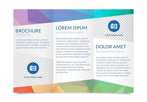 tri fold brochure template   theveliger