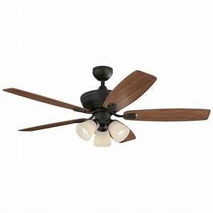 Harbor breeze ceiling fan with light and remote : Harbor breeze tidebrook in oil rubbed bronze