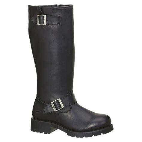 mens biker shoes men 39 s 16 quot ad tec engineer biker boots black 303856
