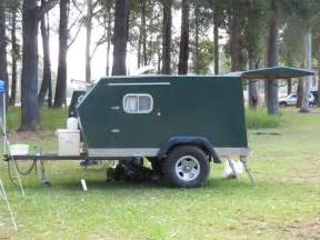 Homemade Camper Trailer Tent