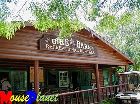 Bike Barn Cypress by Mouseplanet Fort Wilderness Recreation By Sue