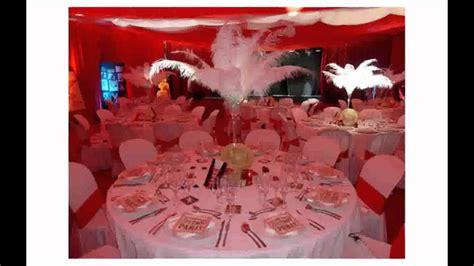 decoration mariage rouge  blanc youtube