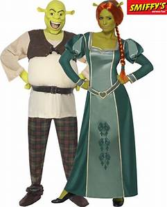 Deguisement Princesse Disney Adulte : couple shrek fiona deguisement adulte en couple le ~ Mglfilm.com Idées de Décoration