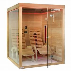 Infrarotkabine 2 Personen Günstig : infrarotkabine sauna zanier lounger g nstig kaufen bei fitstore24 ~ Bigdaddyawards.com Haus und Dekorationen