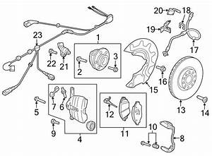 2016 Volkswagen Abs Sensor Wire  Abs Wheel Speed Sensor