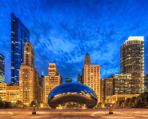 bean chicago il cloud gate