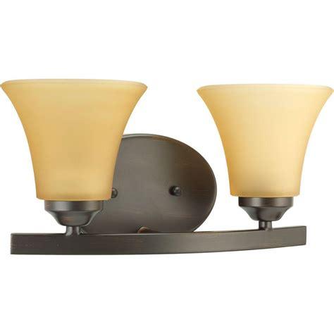 progress lighting 6 light antique bronze vanity fixture