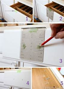 How To Install Cabinet Knobs With A Template