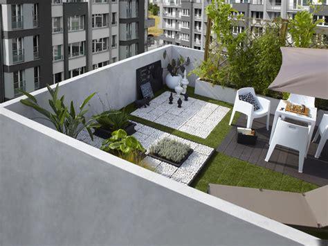 leroymerlin cuisine aménager une terrasse sur un balcon