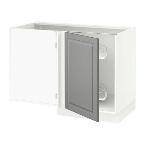 corner kitchen base cabinet sektion corner base cabinet po organizer white bodbyn 5828