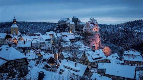 city snow winter castle forest wallpapers hd desktop