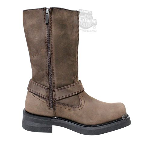 brown leather harley boots 96051 harley davidson mens landon brown leather high