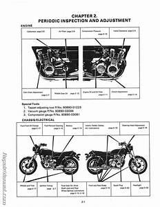 1978-1981 Yamaha Xs1100 Four Cylinder Motorcycle Service Manual