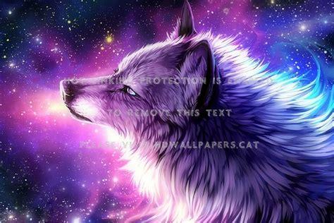 Galaxy Wolf Wallpaper by The Galaxy Wolf Digital Draw And