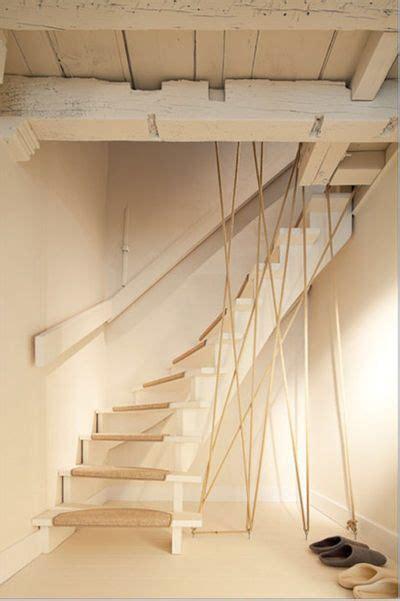 corde pour re escalier moderniser des escaliers en bois avec un garde corps en corde id 233 e sur c 244 t 233 maison
